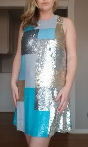 Sequin French Connectio dress